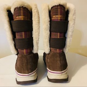 Merrell hiking boots women's size 11